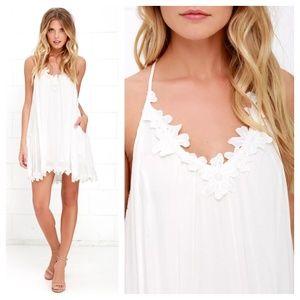 b44d239b9 Lush Dresses   Lily Love Ivory Shift Dress   Poshmark